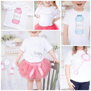 Bubble Party T-Shirt Collection