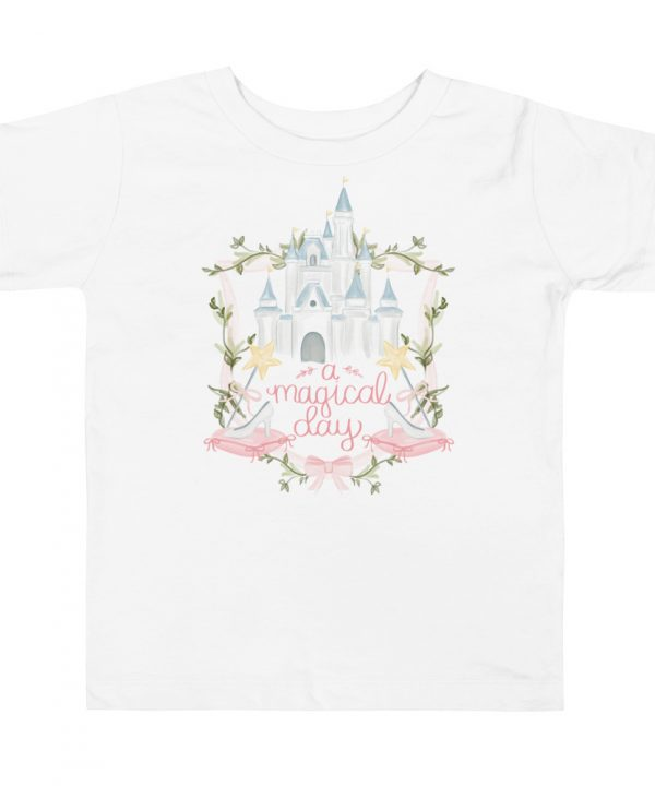 Pink Crest Watercolor T-Shirt by Pretty Plain Paper