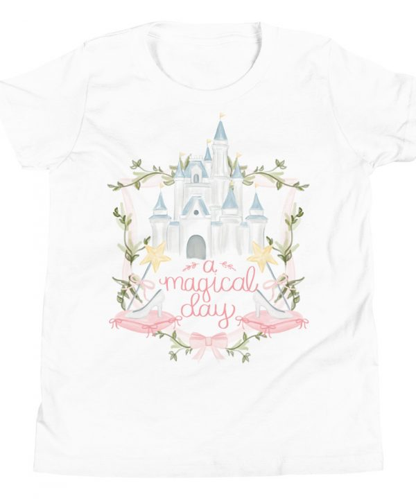 Pink Crest Watercolor T-Shirt by Pretty Plain Paper