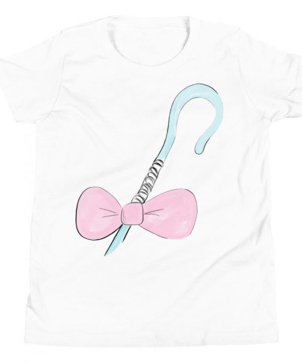 Bow Peep Watercolor T-Shirt by Pretty Plain Paper
