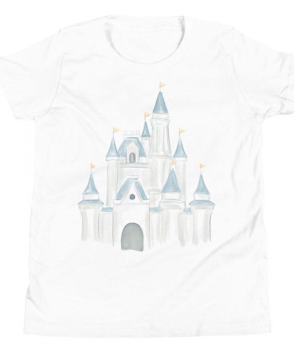 Princess Castle Watercolor T-Shirt by Pretty Plain Paper
