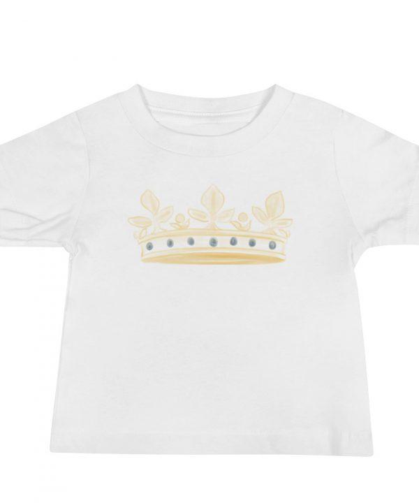 Prince Crown Watercolor T-Shirt by Pretty Plain Paper