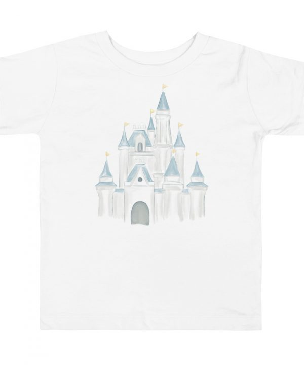Princess Castle Watercolor T-Shirt by Pretty Plain Paper