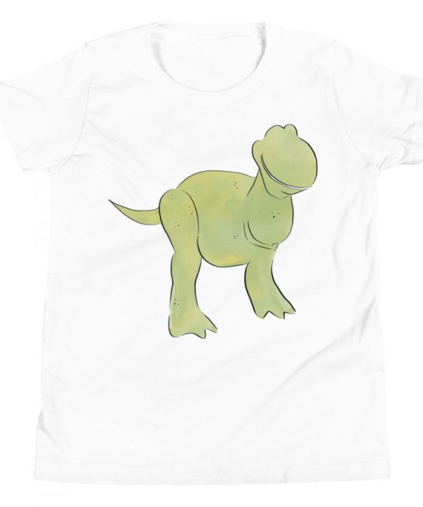 Dinosaur Watercolor T-Shirt by Pretty Plain Paper
