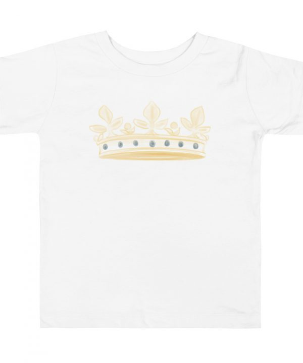 Prince Crown Watercolor T-Shirt by Pretty Plain Paper