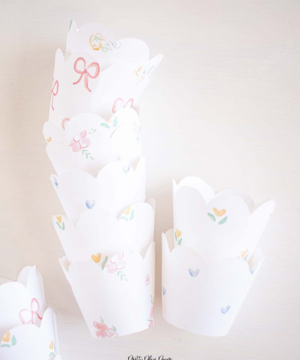 It's My Birthday Party Cupcake Wrappers by Pretty Plain Paper