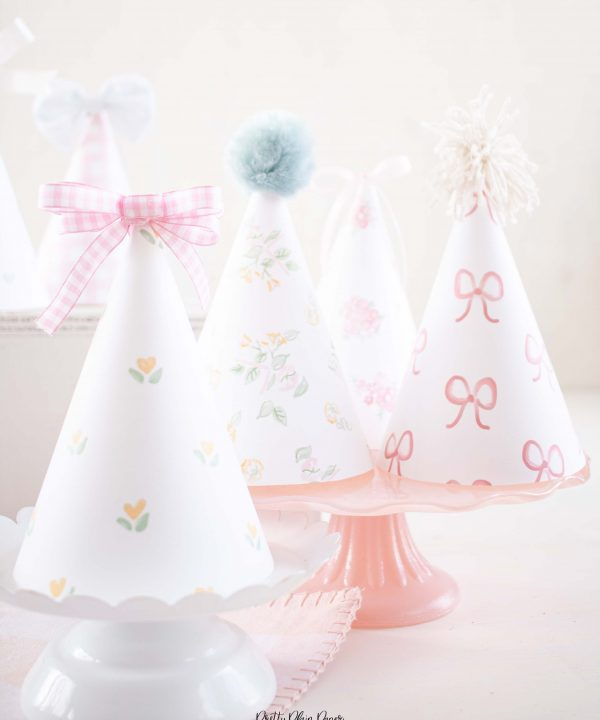 It's My Birthday Party Party_Hats_by Pretty Plain Paper