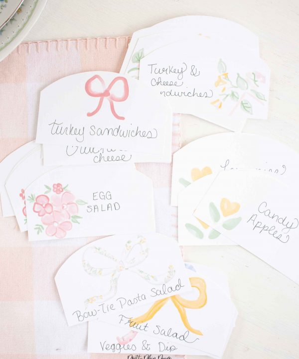 It's My Birthday Party Food & Beverage Labels by Pretty Plain Paper