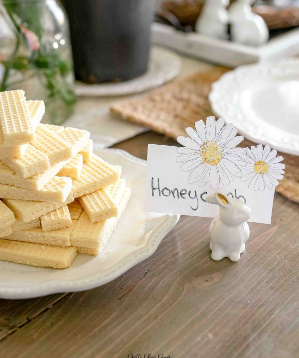 Bee & Honey Birthday Party Printable Food and Beverage Labels by Pretty Plain Paper