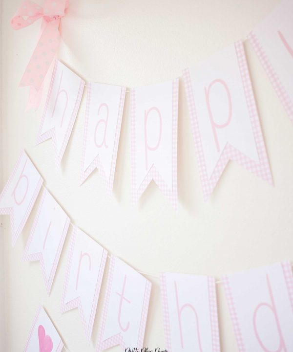 Cake Party Banner, Have your cake and eat it two party, Cake Decorating Party Printables by Pretty Plain Paper